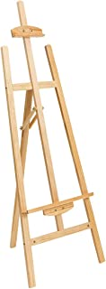 Marble Field Adjustable Wooden Tripod Easel Display Floor Easel Sketch Painting Portable Natural