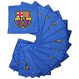 Oficial FC BARCELONA azul paño de cara con cresta