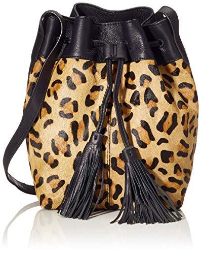 PIECES Damen Pchillen Tighten Bag Schultertasche, Mehrfarbig (Beige), 15x38x31 cm