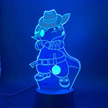 Bedside lamp Go Cowboy with Cap Figure Children Night Light Bedroom Atmosphere Night   Light Led 3D Lamp Pendant Boat