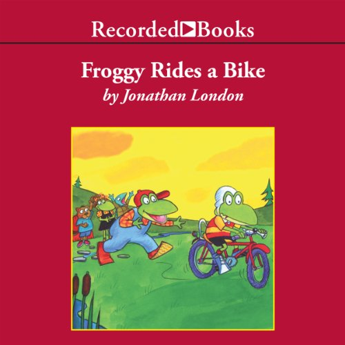 Froggy Rides a Bike cover art