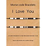 Couples Bracelets for Boyfriend Girlfriend Gifts Long Distance Relationships Matching Bracelets for Him and Her Mother Daughter