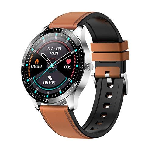 YDZ Monitor De Sueño con Ritmo Cardíaco S80 IP68 Hombres Inteligentes Impermeables Hombres Fitness Fitness Ejercicio 2021 Smartwatch para iOS Android,F