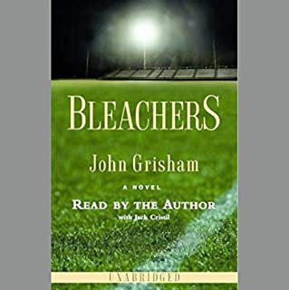 Bleachers audiobook cover art