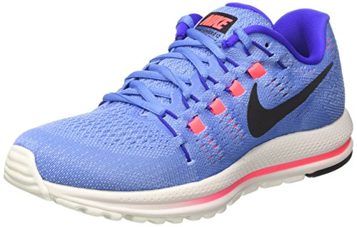 Nike Women's WMNS Air Zoom Vomero 12 Running Shoes, Blue (Polar/Paramount Blue/Aluminum/Black), 4.5 UK 38 EU