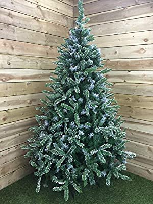 Premier 7ft (210cm) Mountain Snow Fir Christmas Tree