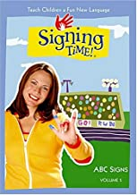 Signing Time! Series 1 Volume 5: ABC Signs