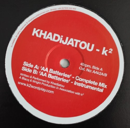 "Aa Batteries - Khadijatou 12\"""