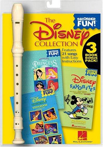 The Disney Collection: Recorder Fun! 3-Book Bonus P