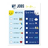 Playroom Decor, Routine Chart for Kids, Chart for Morning and Bedtime, Responsibility Chart, Home and Teaching Resource, Skills Development for Kids, Behavior Chart for Kids