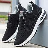 Aerlan Gym Shoes Lightweight Shoes,Zapatos Casuales Ligeros para Hombres, Zapatos para Correr, Zapatos Deportivos al Aire Libre-Oscuro Ash_40,Botas de montaña Deportivas