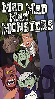Mad Mad Mad Monsters VHS