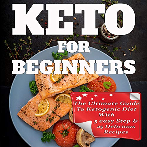 Keto for Beginners audiobook cover art