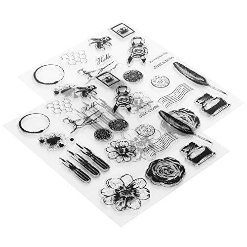 Sello de álbum de recortes de bricolaje Materiales de alta calidad para invitaciones