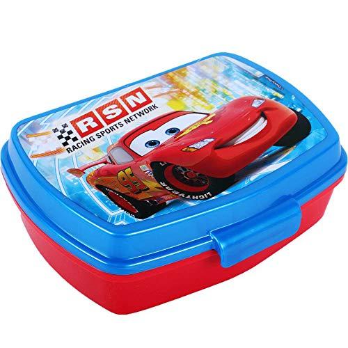 Boite à gouter Disney Cars Lunch box enfant déjeuner plastique