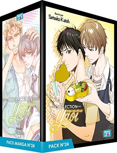 Pack Boy's Love - Partie 24 - 5 Mangas (Livres) - Yaoi