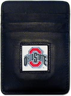 Siskiyou NCAA Ohio State Buckeyes Leather Money Clip/Cardholder
