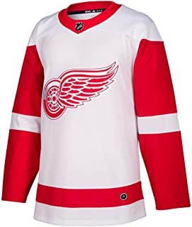 adidas Detroit Red Wings Authentic NHL Road White Jersey