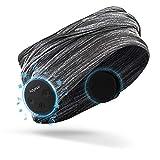 Keymao Bluetooth Headphones IPX5 Waterproof Bluetooth Headset 5.0 Wireless headsets for Women,Men,Boys,Girls Fitness Workout (Grey)