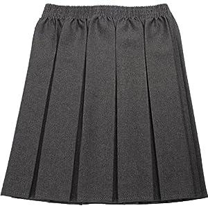 Uniforme escolar Niñas Verano Formal vestido parte inferior completo elástico caja plisado falda sólo uniforme® 2