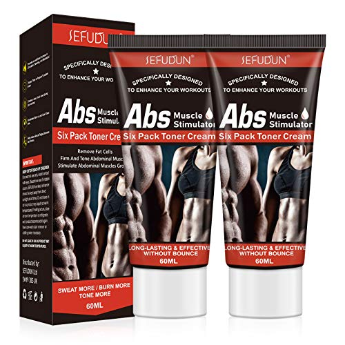 Belly Fat Burning Cream, (2Pack) Hot Cream for Abdomen, Natural Sweat Workout Enhancer, Cellulite Treatment for Thighs, Legs, Abdomen, Arms and Buttocks, Slim cream for Men or Women 60ml