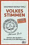 Siegfried Suckut (Hg.): Volkes Stimmen