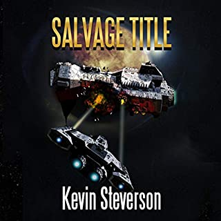 Salvage Title     The Salvage Title Trilogy, Book 1              By:                                                                                                                                 Kevin Steverson                               Narrated by:                                                                                                                                 KC Johnston                      Length: 6 hrs and 42 mins     58 ratings     Overall 4.7