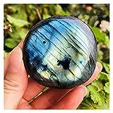 YSJJDRT Cristal Natural Rugoso Natural áspero Aleatorio Colorido labradorita Cristal Piedra Natural Piedra Lunar Piedra Acuario jardinería decoración casero (Size : 150-200g)