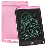 WOBEECO LCD Writing Tablet, 8.5inch Doodle Board Sketch Pad Electronic Drawing Pad for Kids(Pink)