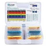 Elegoo 525 Pezzi Kit resistore 17 Valori 1% Assortimento, 0 Ohm-1M Ohm per R3 e Altri progetti di Elettronica per Arduino