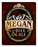ZuWEE Megan Beer & Ale Gallery Wrapped Personalized Canvas Print