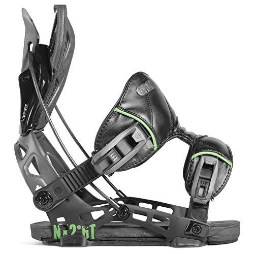 Flow 2019 NX2-GT Mens Black Medium Snowboard Bindings