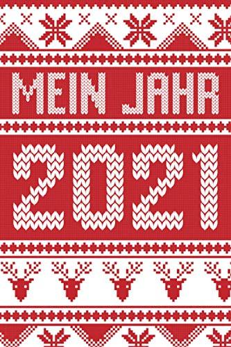 Mein Jahr 2021: Weihnachtskalender als Wichtelgeschenk und Geschenk für die Adventskalender Füllung, zu Nikolaus oder Weihnachten