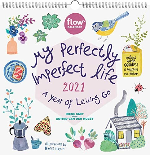 My Perfectly Imperfect Life Wall Calendar 2021 A Year of Letting Go product image