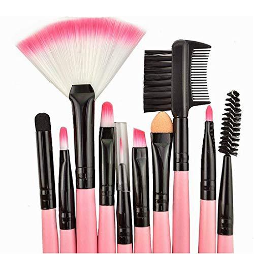 Tuzi Qiuge Ziegenhaar rosa Griff Make-up Pinsel mit rosa Beutel