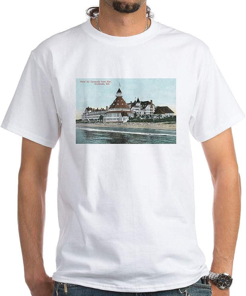 CafePress Coronado, CA Hotel Del Coronado Cotton T-Shirt