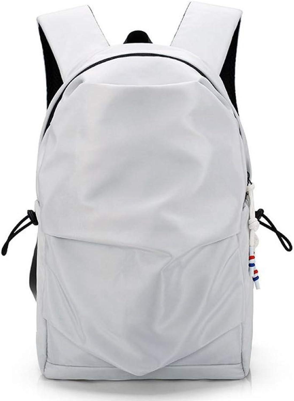 HUYANNABAO Unisex Multifunction Backpack Anti Theft Pleated Cover Laptop Backpack School Bag for Teenager Feminine Backpacks