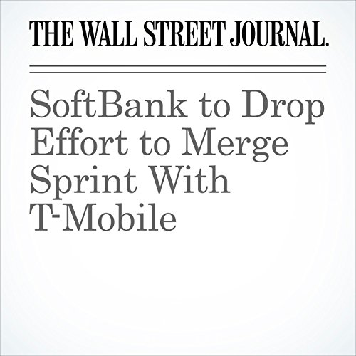 SoftBank to Drop Effort to Merge Sprint With T-Mobile (Unabridged) copertina