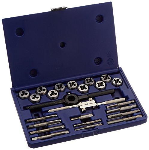 Irwin Industrial Tools 23622Fraktionierte Wasserhahn und 1Solide Runde sterben Set, 24