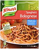 Knorr Fix spaghetti bolognese...