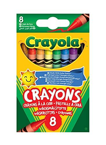 Crayola 114574 Coloured Crayons ( 8 Pack )