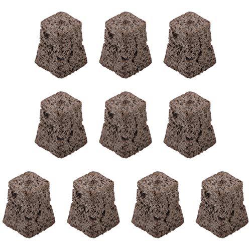 YARNOW 10 Stück Steinwolle-Starterstopfen Hydroponische Steinwolle-Wachstumswürfel Die Das Wachstumsmedium für Hydrokultur-Wachstumsmedien für EIN Kräftiges Pflanzenwachstum Starten