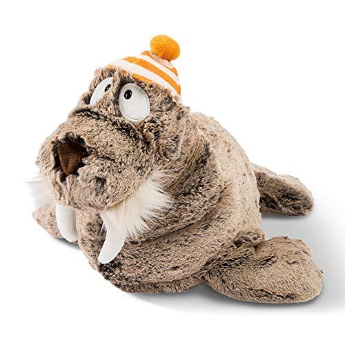 NICI 45734 Kuscheltier Walross Walbo Wabbel 35 cm – Das süße Walross Plüschtier für Jungen, Mädchen, Babys und Kuscheltierliebhaber