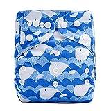 VJGOAL Niños Pañales Lavable Reutilizables Braguitas de Aprendizaje Impresos Pantalones de Entrenamiento Ajustables Bragas Ropa Interior para Bebé Niña