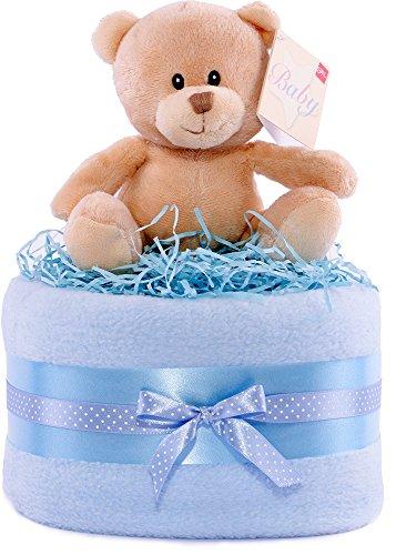 Incluye un hermoso oso super suave que los bebés adorarán. Contenido: manta de forro polar de lujo, pañales de perro, oso supersuave, cintas de coordinación, tarjeta de ingredientes y etiqueta de regalo hecha a mano. Solo los pañales de marca líder y...