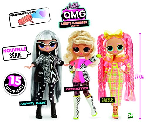 L.O.L Surprise - OMG Muñecas Fashion Lights (Giochi Prezios