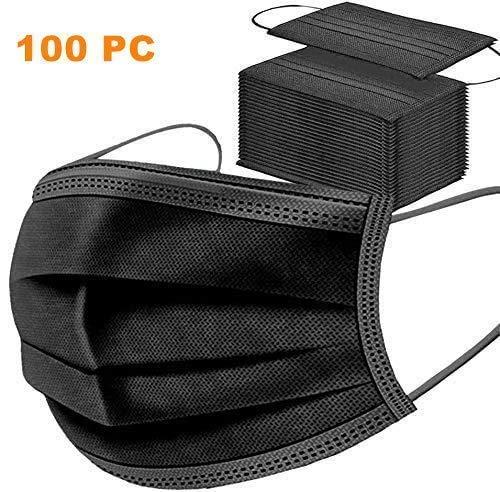 MaNMaNing Protección 3 Capas Transpirables con Elástico para Los Oídos Pack 100 unidades 20200702-MANING-X101