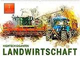 Landwirtschaft - Hightech Giganten (Wandkalender 2022 DIN A2 quer): Immer größer, immer stärker, immer imposanter, Fahrzeuge in der Landwirtschaft. (Monatskalender, 14 Seiten )