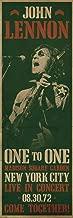 MUSIC John Lennon (Beatles) New York 1972 Live Concert Come Together- Door Poster - 21