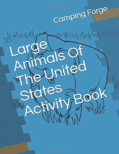 Large Animals Of The United States Activity Book